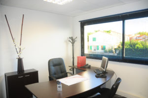 Bureau meublé au sein de centre d'affaires Equinoxe.